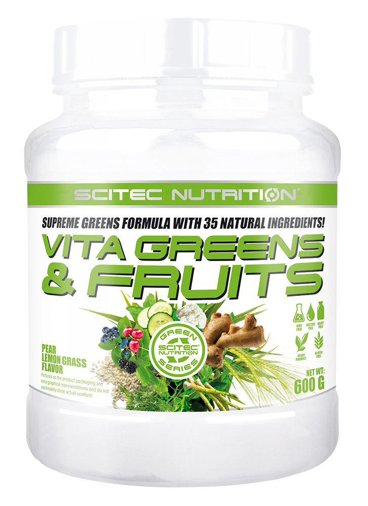 Scitec Nutrition Vita Greens & Fruits 600 gr.