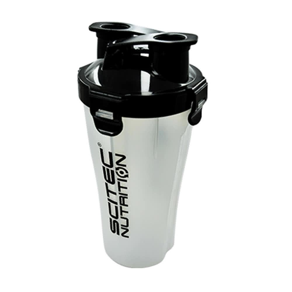 Scitec Nutrition Műanyag két rekeszes shaker