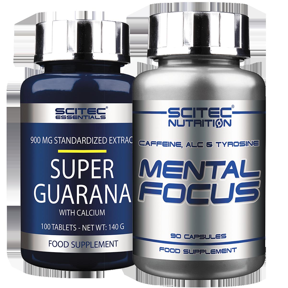 Scitec Nutrition Mental Focus + Super Guarana szett