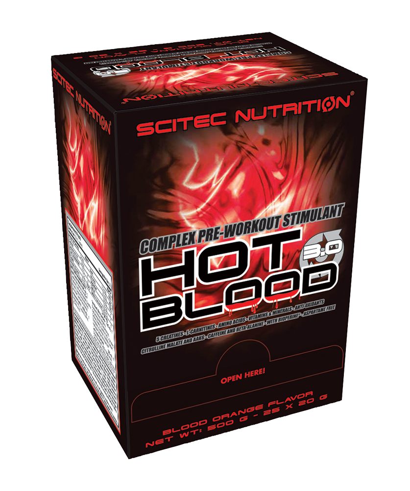 Scitec Nutrition Hot Blood 3.0 25x20 g