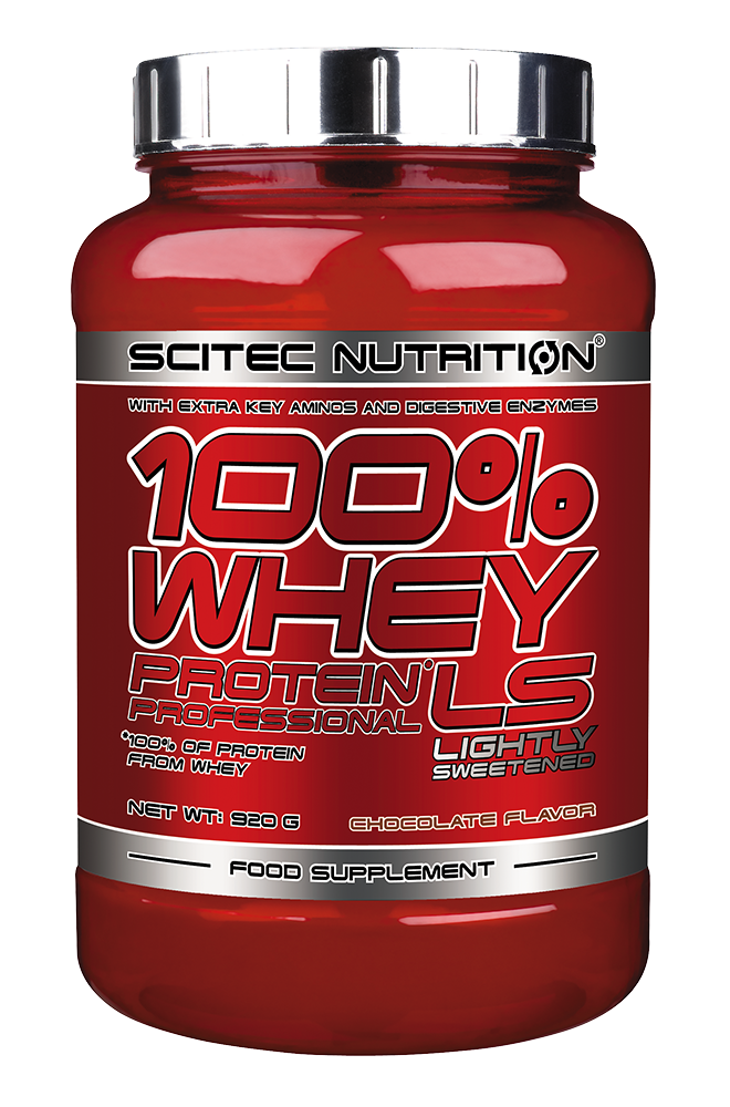 Scitec Nutrition 100% Whey Protein Professional Lightly Sweetened 0,92 kg