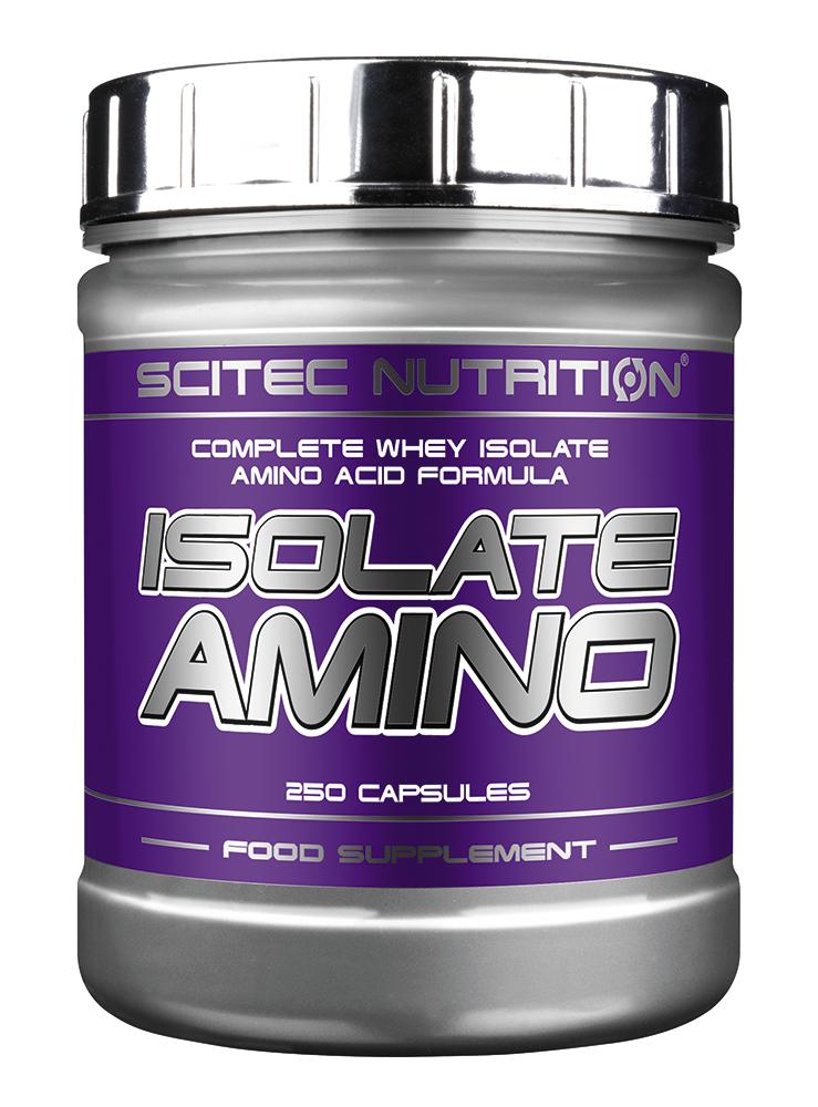 Scitec Nutrition Isolate Amino 250 kap.