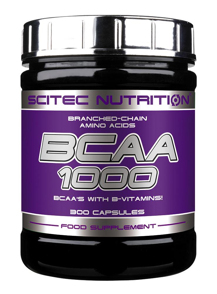 Scitec Nutrition BCAA 1000 300 kap.